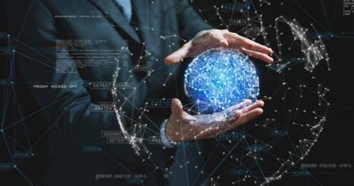 Dunia dalam genggaman digital (sumber : The Conversation)