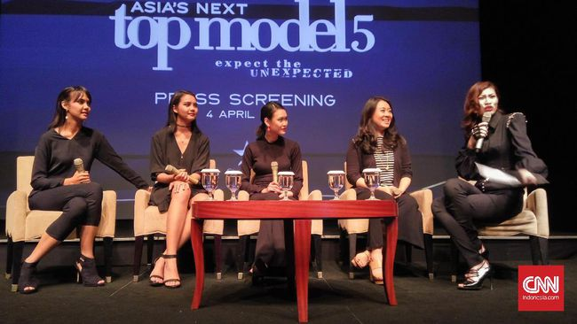 Asia's Next Top Model Press Screening (sumber : CNNIndonesia)