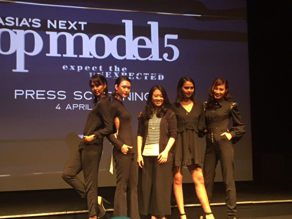 Asia's Next Top Model 5 Press Screening (sumber : Tabloidbintang.com)
