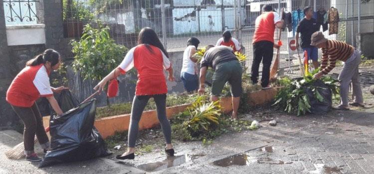kegiatan bersih kampung (sumber : Pasuruan (Mediasindoraya)