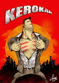 Superman Kerokan (Sumber : Hipwee)