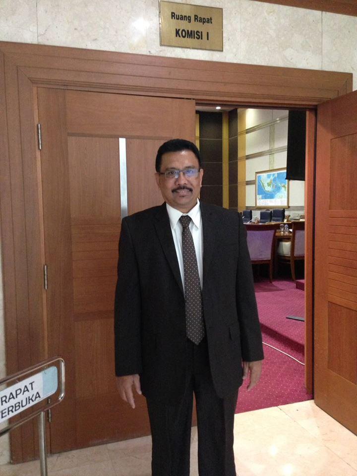 Arifi Saiman dari Kementerian Luar Negeri Indonesia