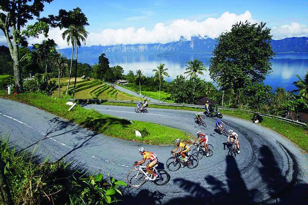 Kelok 44 saat Tour de Singkarak