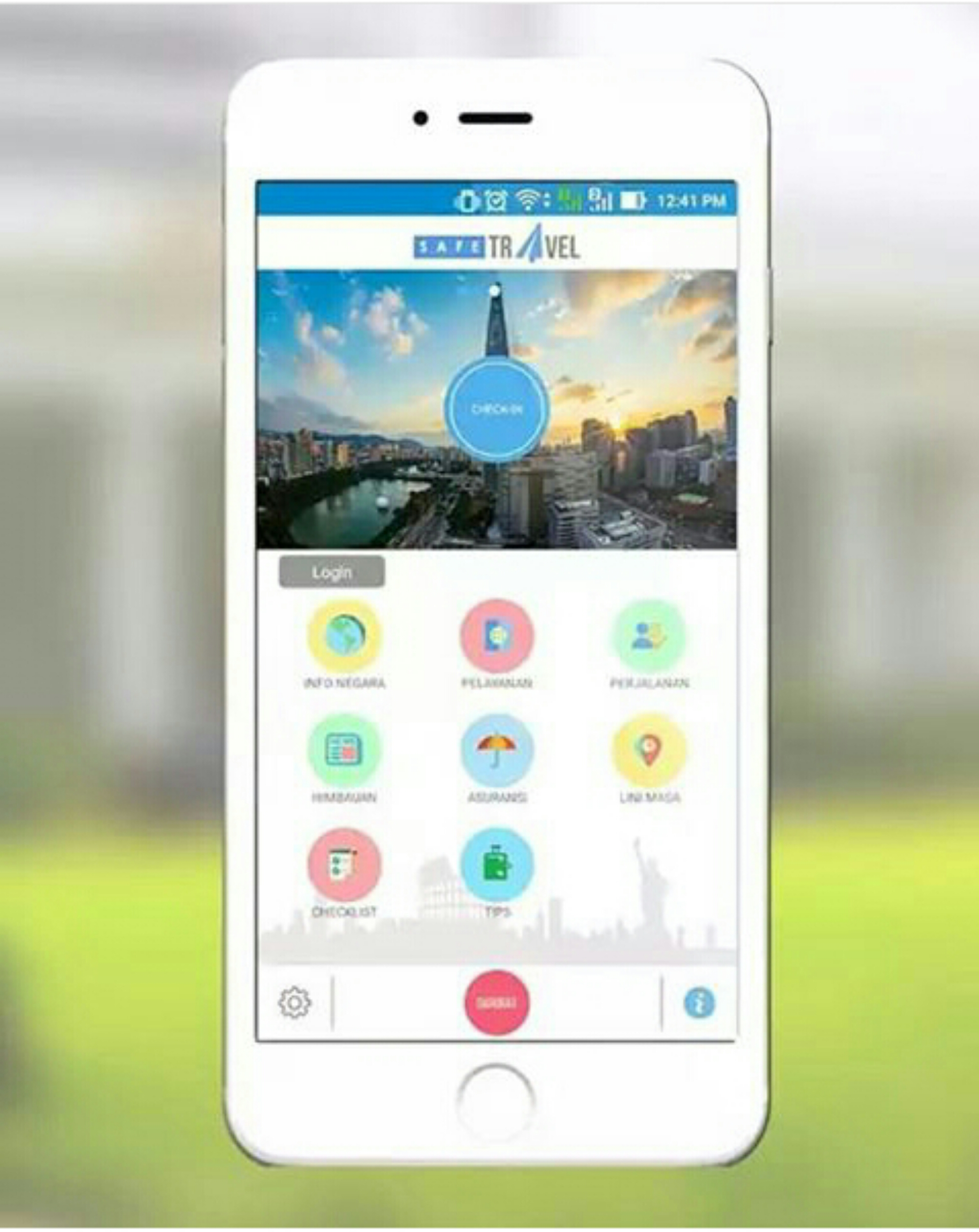 Safe Travel Apps (Instagram Kemenlu )