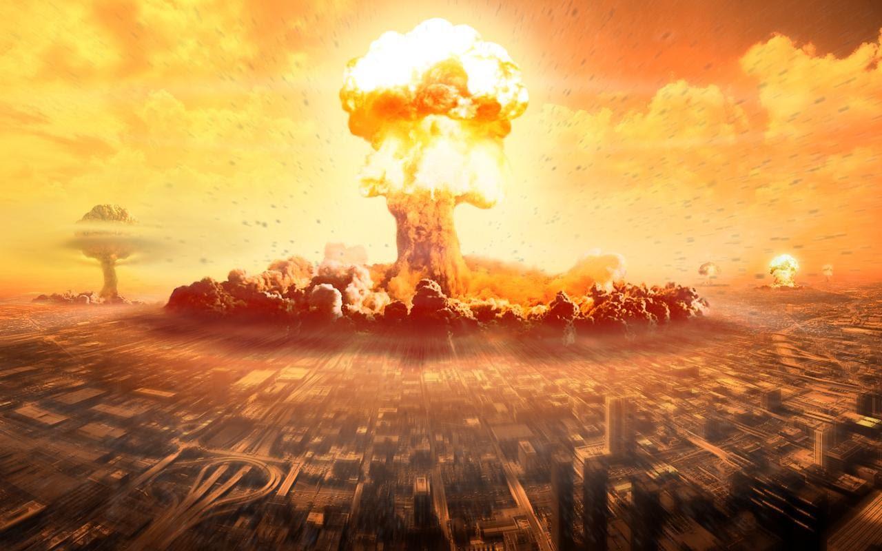 Ilustrasi ledakan nuklir (sumber : tirto.id)