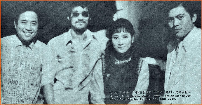 Berfoto bersama Bruce Li (Sumber : Shaolin Chamber 36)