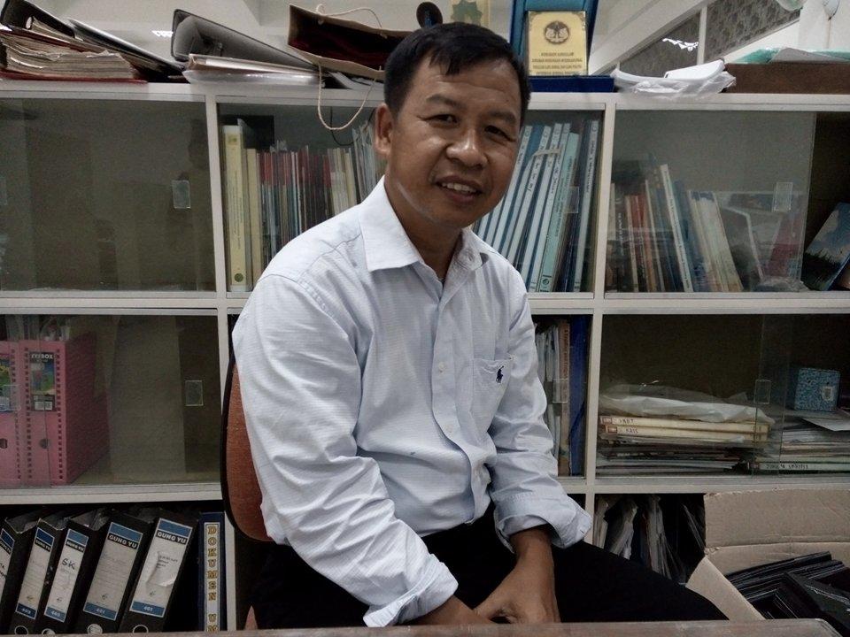 Sugeng Riyanto, salah satu anggota Paguyuban Sugeng