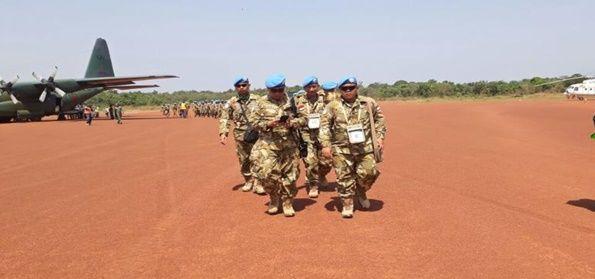 Prajurit TNI Tiba di Kongo (Sumber : www.intelijen.co.id)