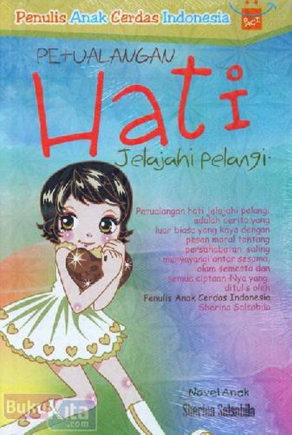 Novel Solo Sherina Salsabila (sumber : Sherina Salsabila)