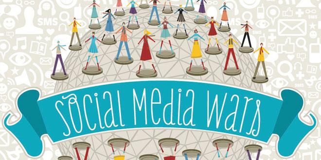 Social Media War (Sumber : SociableBlog)