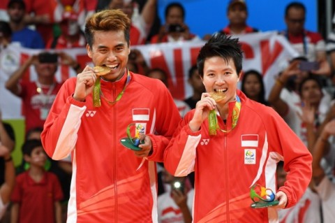 Tontowi Ahmad and Liliyana Natsir won first gold medal for Indonesia at the Rio Olympics