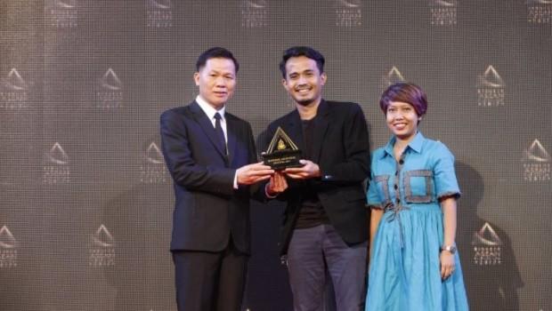 Sutradara Yosep Anggi Noen di Bangkok ASEAN FIlm Festival 2017 (sumber : IndonesiaShow.biz)