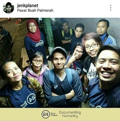 Ali Zaenal (memakai topi) bersama rombongan fotografer saat mengikuti 24 Hour Project 1 April lalu. © Instagram @jenkplanet