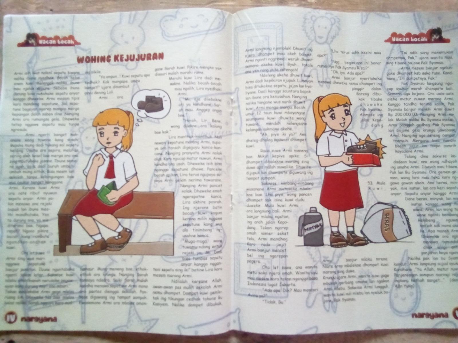 Cerita anak berbahasa Jawa