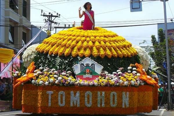 Festival Bunga Tomohon 2016