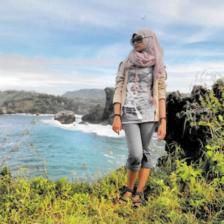 Sisi atas pantai Greweng