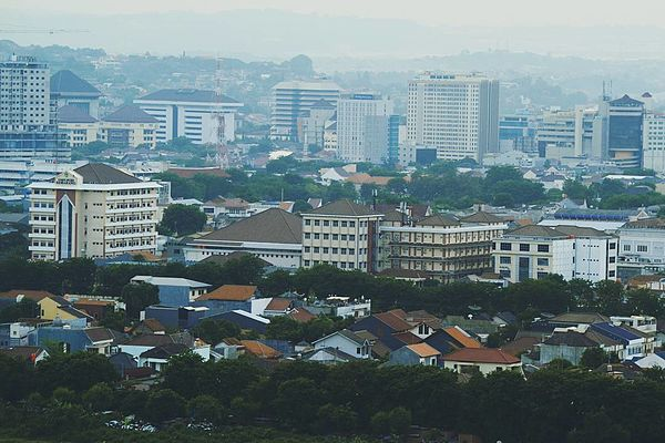 Pencakar langit Kota Semarang