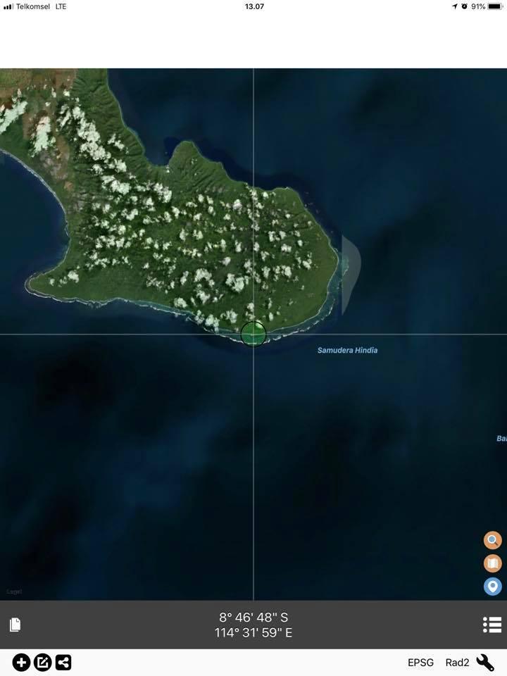 Titik paling selatan Jawa | Wiworo Wiworo FB