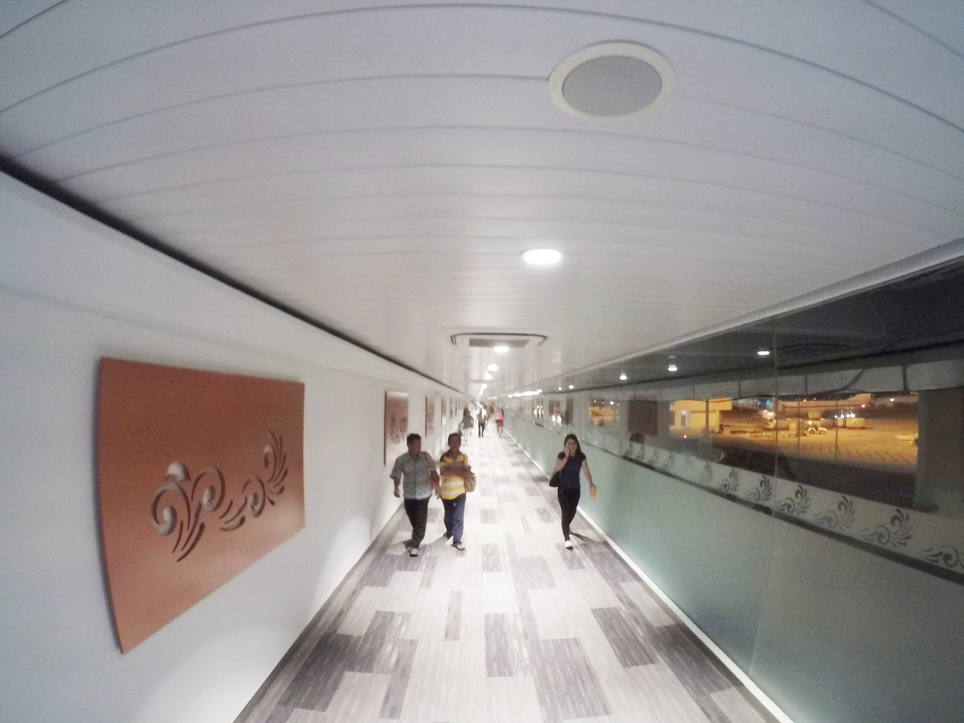 Koridor yang cantik dan ..panjang
