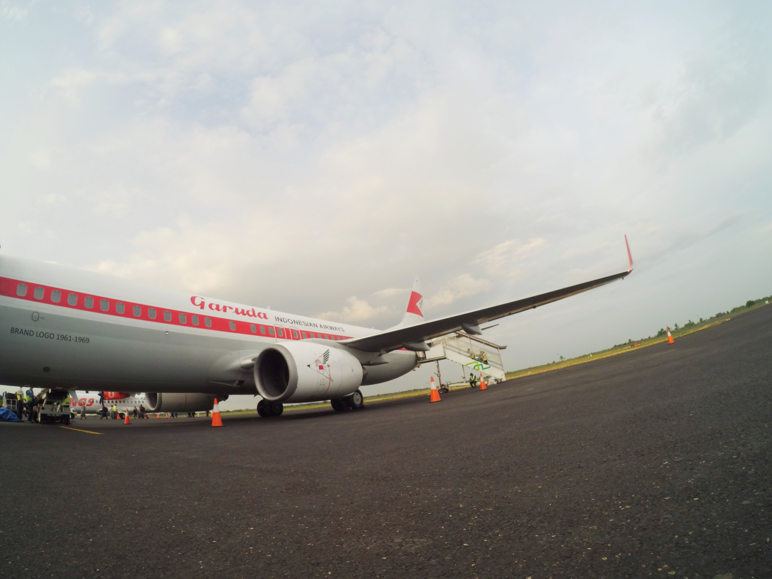Livery retro Garuda Indonesia