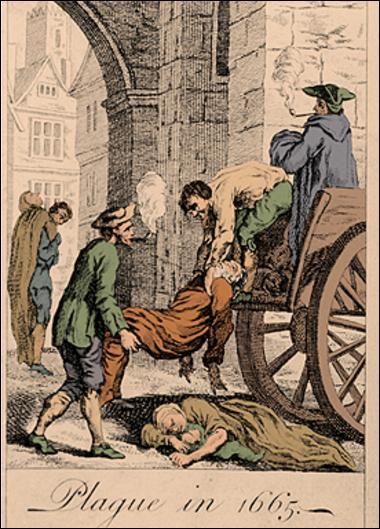 Wabah Maut Hitam terakhir di London   Wikimedia Commons