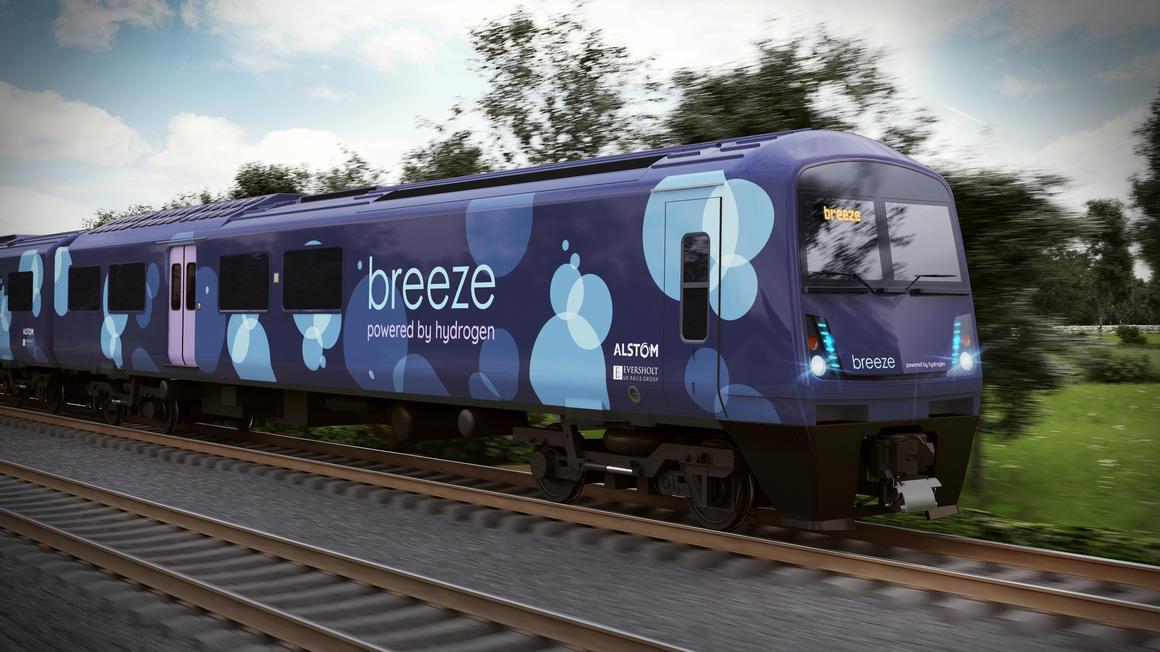 Design kereta hydrogen Alstom untuk dipakai di Inggris | Alstom