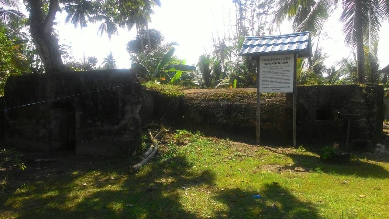 Bunker 1 yang Tampak Utuh