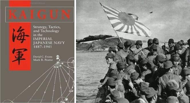 Kaigun (Pasukan Angkatan Laut Jepang) - Pasukan-pasukan Jepang saat Mendekat ke Arah Pulau Kalimantan (10 Januari) ©Pinterest