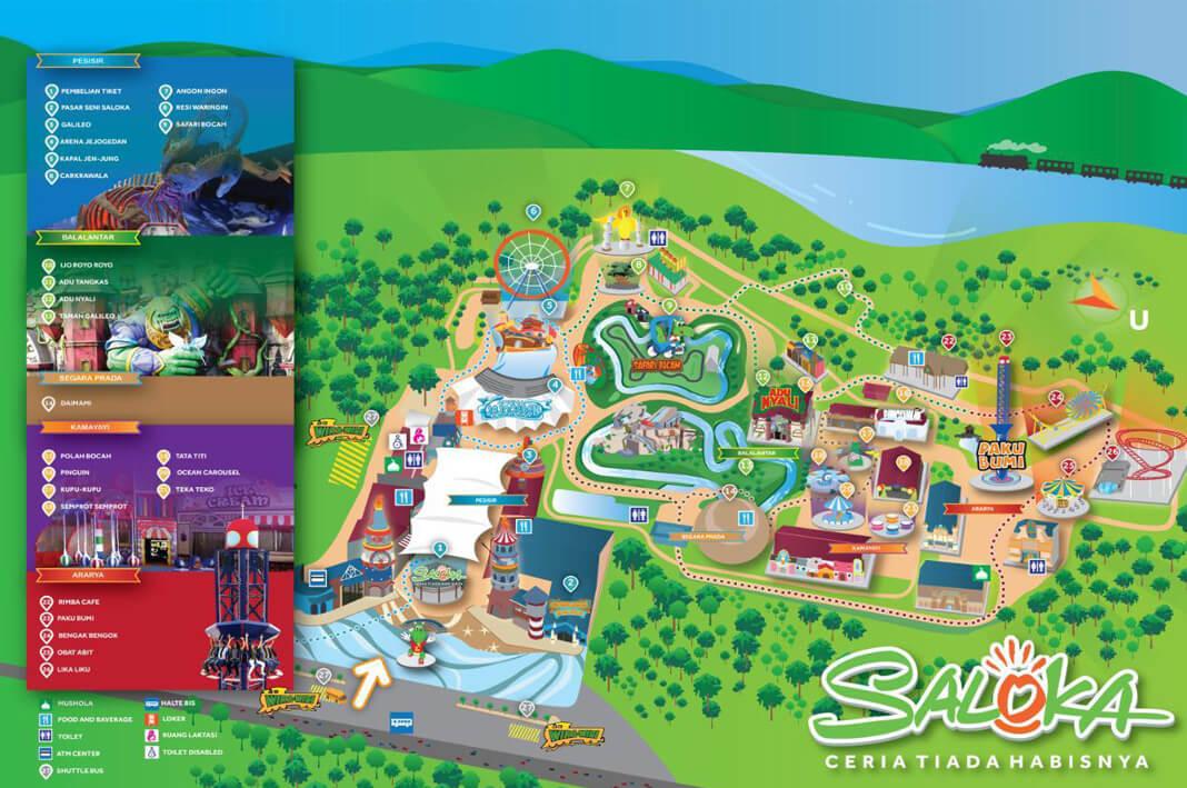 Saloka Theme Park, Tempat Rekreasi Terbesar di Jawa Tengah | Sumber dok: Soloevent