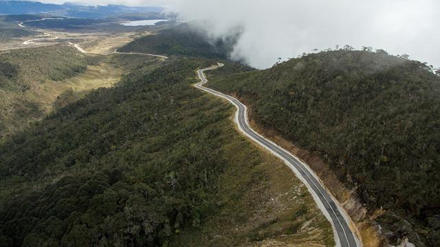 Lokasi Jalan Trans Papua yang Diharapkan Mampu Memberikan Kenyamanan Bagi Masyarakat Setempat