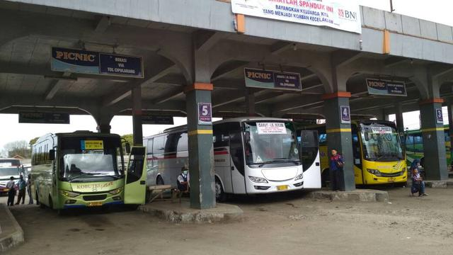 Hadirnya Terminal Bus Tersebut Diharapkan Mampu Memberikan Kemudahan Transportasi | Sumber dok: Liputan 6