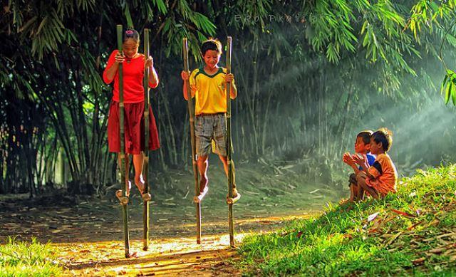 Potret Permainan Tradisional di Indonesia