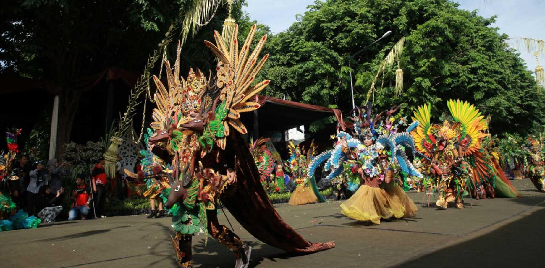 Parade Busana Banyuwangi Ethno Carnival