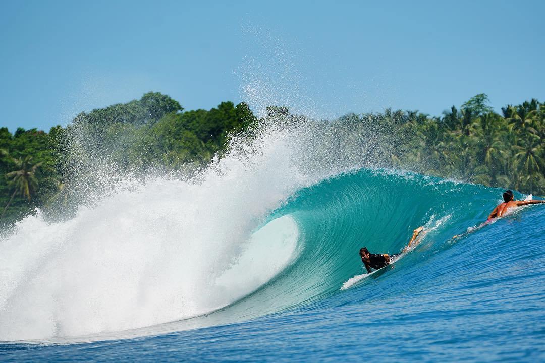 Ombak di Laut Mentawai | Sumber dok: Traveling Yuk