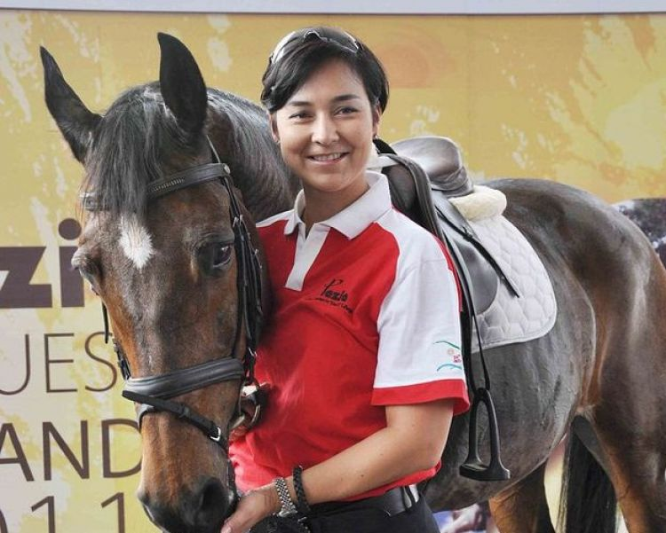 Prestasi Larasati Gading Sebagai Atlet Berkuda Tidak Perlu Diragukan Lagi | Sumber: Brilio