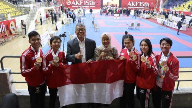 Atlet Karate Indonesia Kembali Bawa Harum Nama Bangsa di Yordania (Sumber Dok: KBRI Amman)