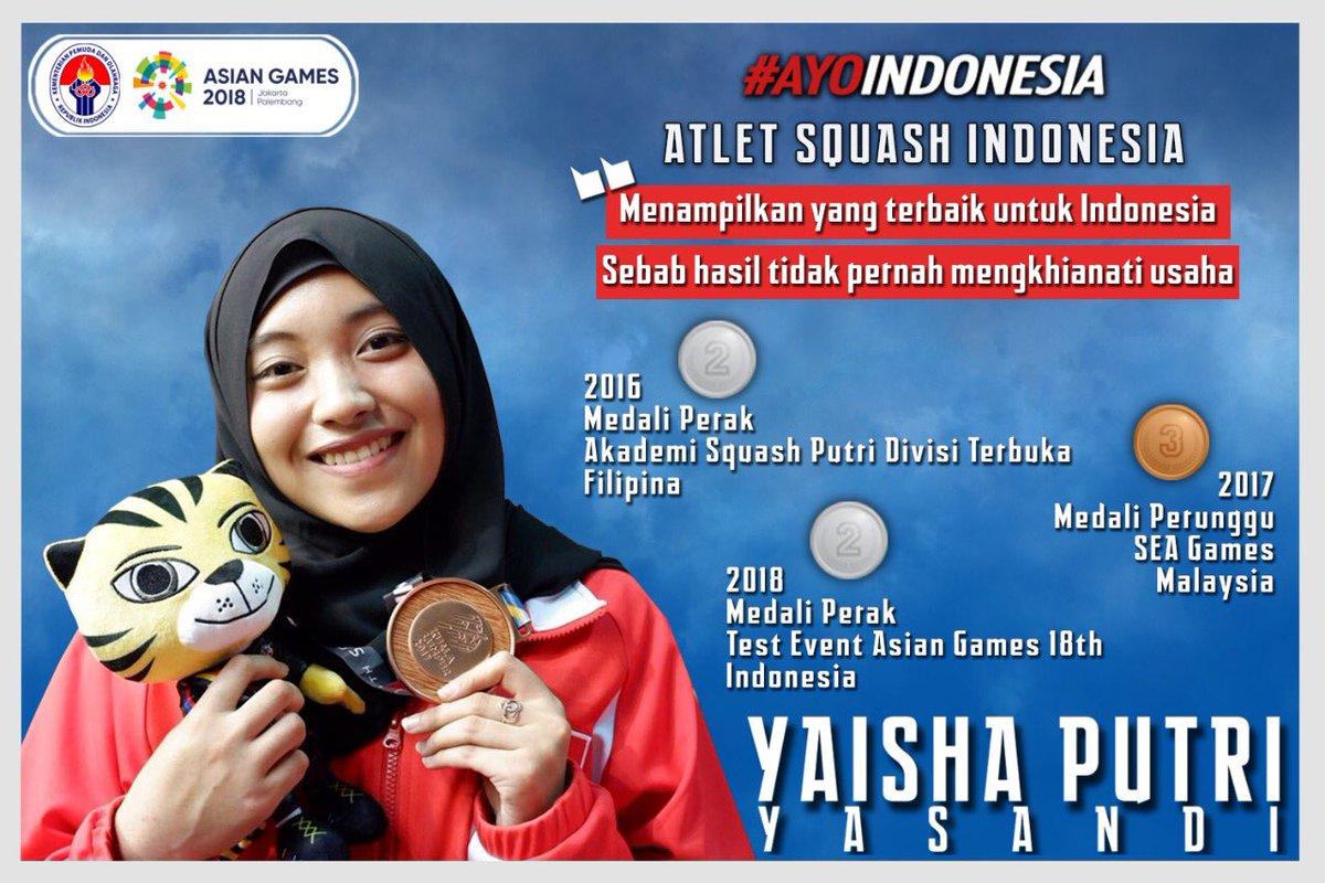 Yaisha Putri Yasandi yang Telah Membawa Nama Indonesia di Berbagai Ajang Bergengsi | Sumber dok: Twitter BPPT_RI