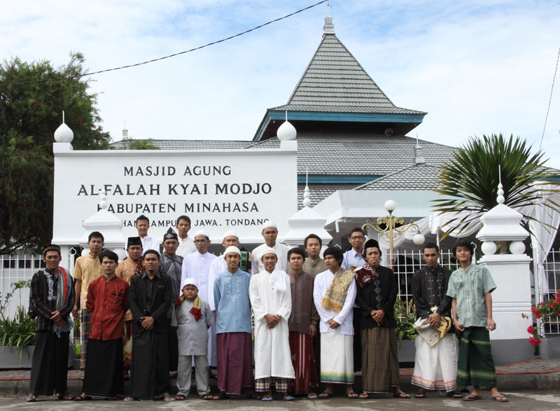 Masjid Al-Falah di Perkampungan Jawa Tondano