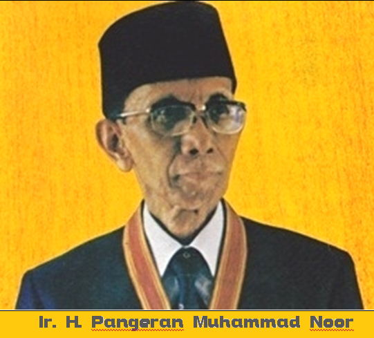 IR H Pangeran Muhammad Noor | Sumber dok: Prestasi Pelajar Indonesia