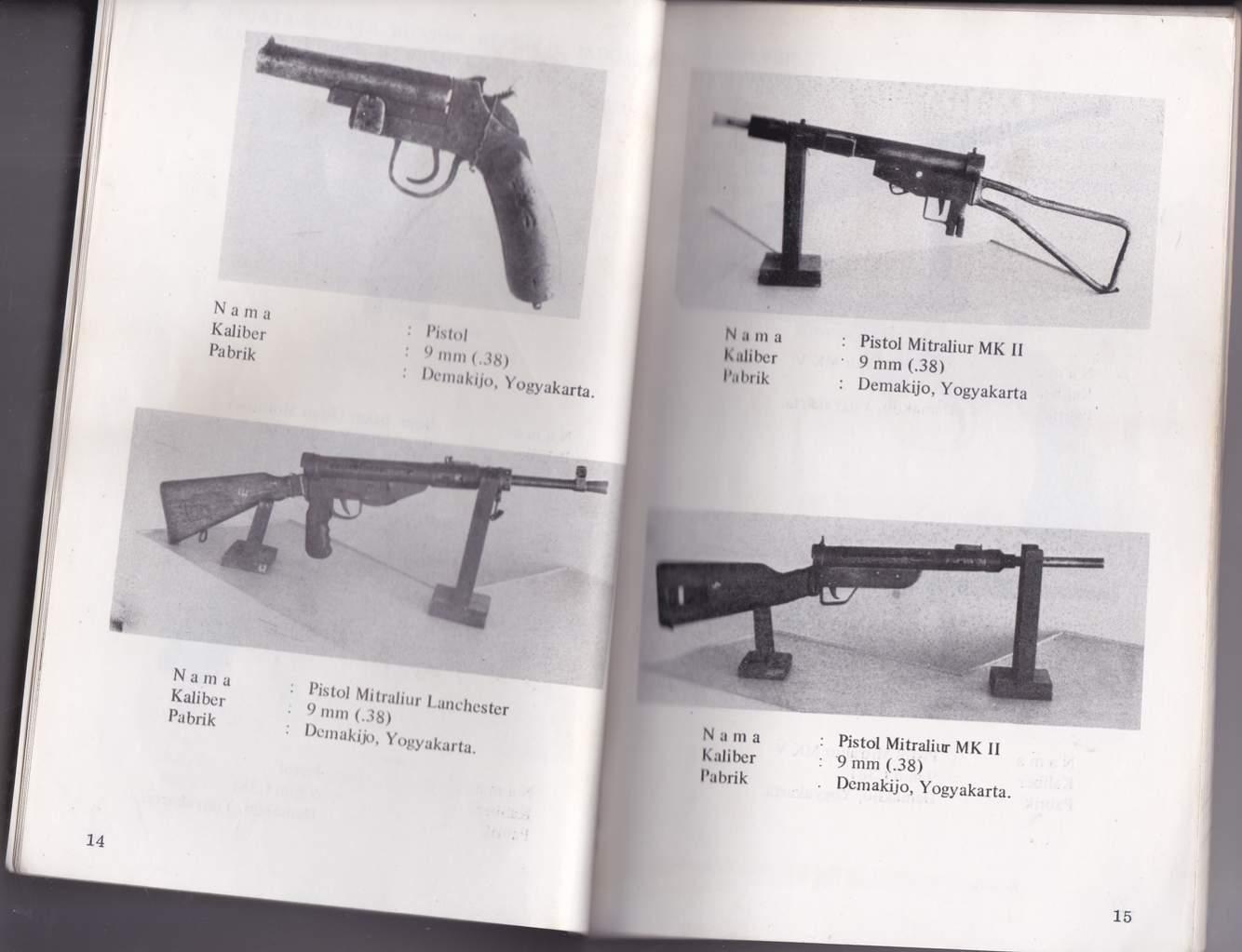 Koleksi Senjata Buatan Pabrik Demakijo | Sumber dok: Verkedell's