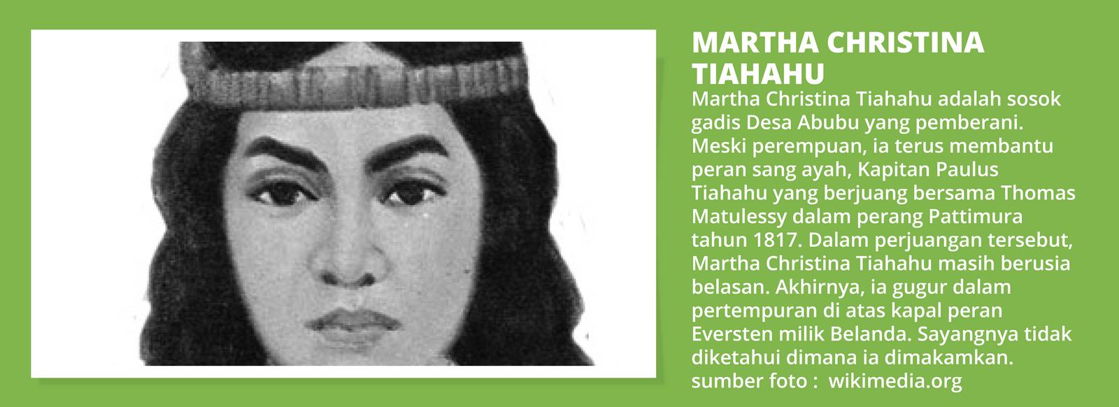 Martha Christina | Sumber dok: Sebangsa