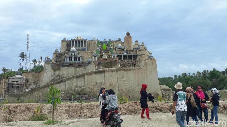 Istana Bak Negeri Dongeng di Cilegon yang Viral di Medsos | Sumber dok: detikTravel