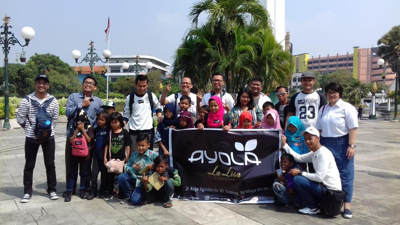 Acara Hari Anak Nasional di Museum Surabaya 10 November