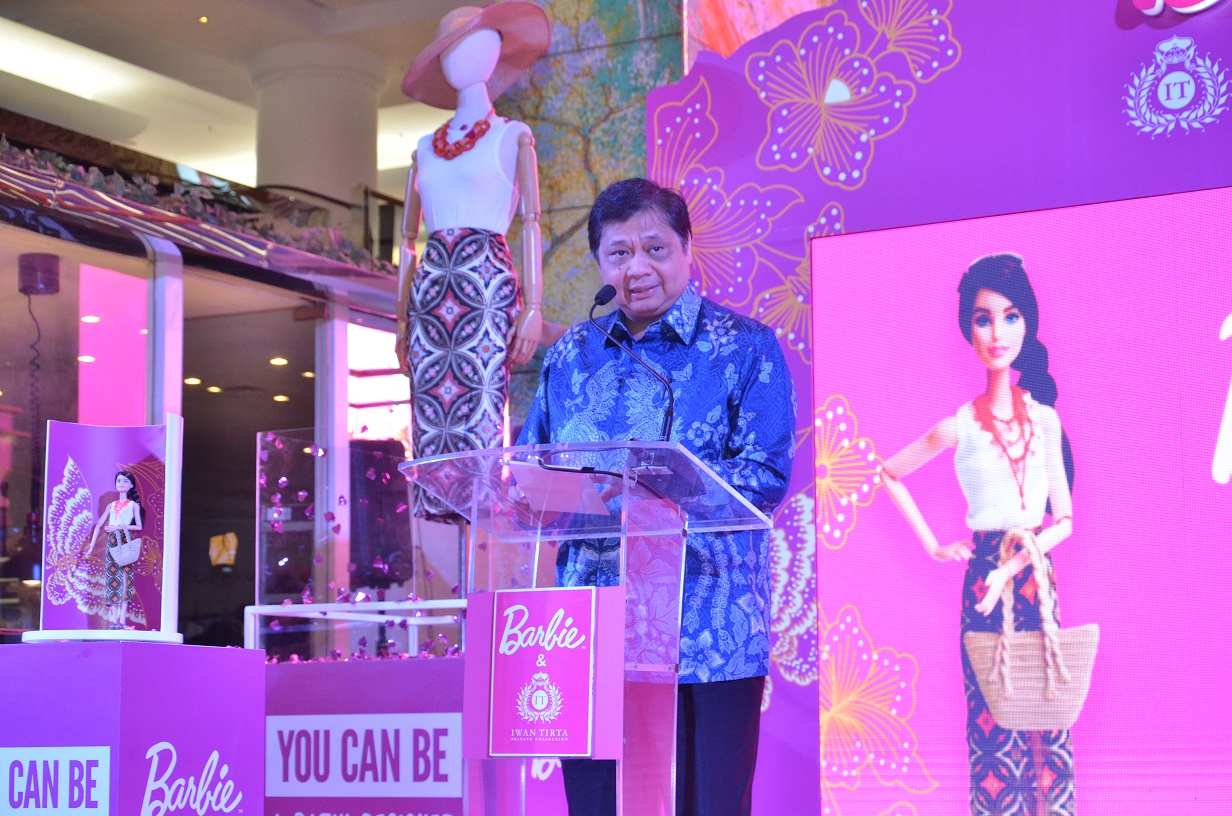 Peluncuran Barbie Batik Beberapa Waktu Lalu | Sumber dok: Facetofeet.com