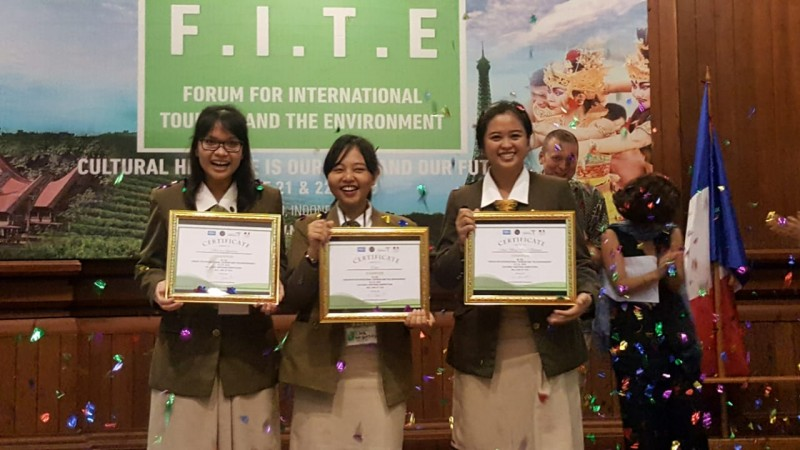 Mahasiswa STP Bali Berhasil Menjuarai Ajang FITE 2018