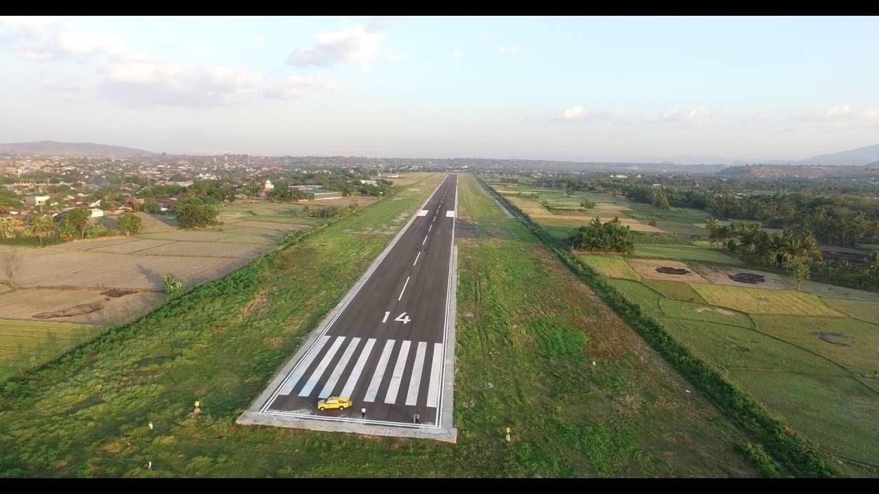 Bandar Udara Sultan Muhammad Kaharuddin | Sumber dok: Youtube