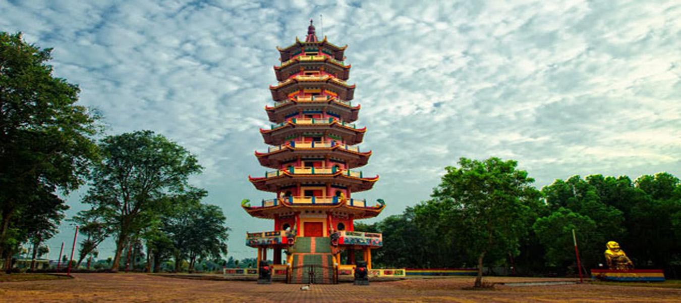 Wisata Pagoda Pulau Kemaro Palembang