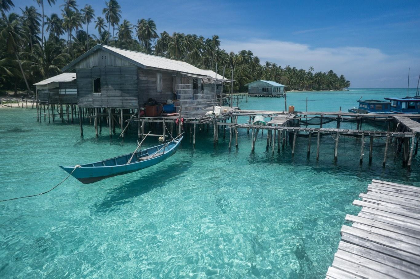Pulau Panjang Salah Satu Tempat Wisata Kekinian di Natuna