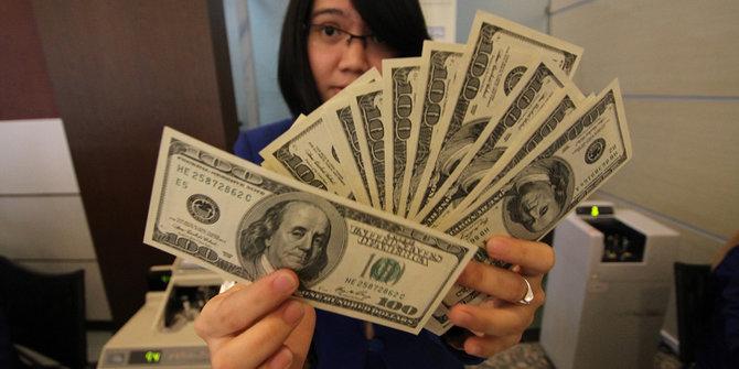 Wujud Dolar Amerika   Sumber: Merdeka.com