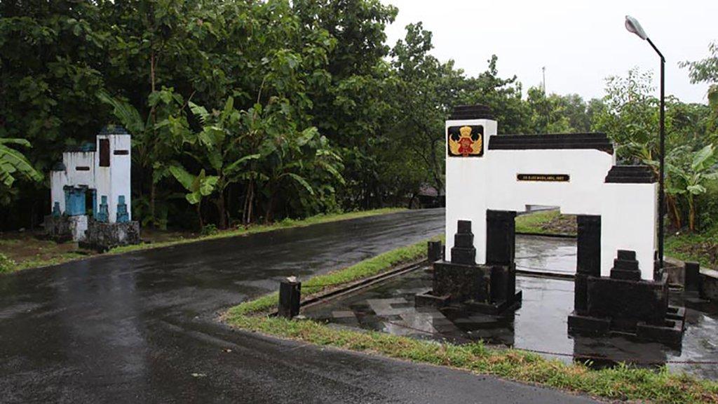 Tugu Tapal Batas Yogyakarta - Surakarta | Sumber dok: Tirto